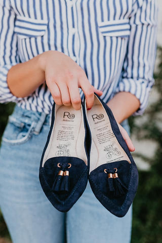 Midnight Blues Tassel Rollasole Loafer