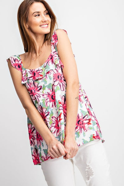 The Laurie Floral Print Top
