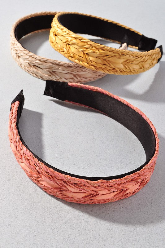 Basket Weave Headband- 2 Colors!