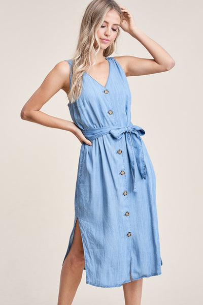 Denim Dream Tank Dress