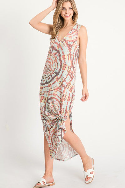All Grown Up Tie Dye Maxi Dress- 2 Colors!