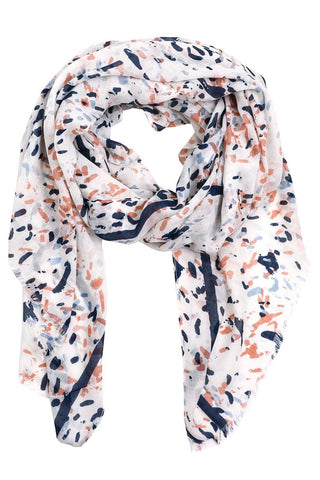 Abstract Multi-Colored Scarf