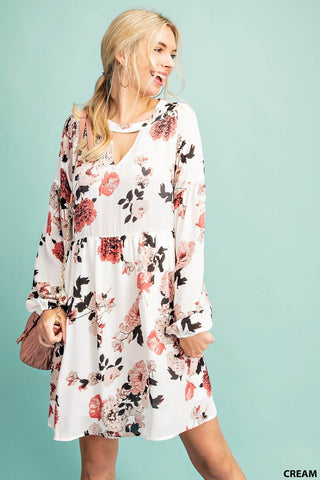 The Melissa Winter Blooms Boho Dress