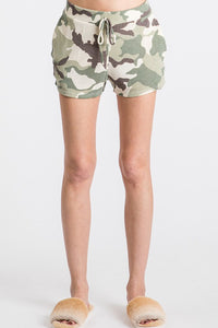 The Camille Camo Print Lounge Shorts S-XL!
