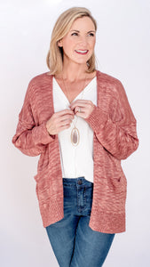 The Marley Mid Length Pocket Cardigan- 2 Colors!
