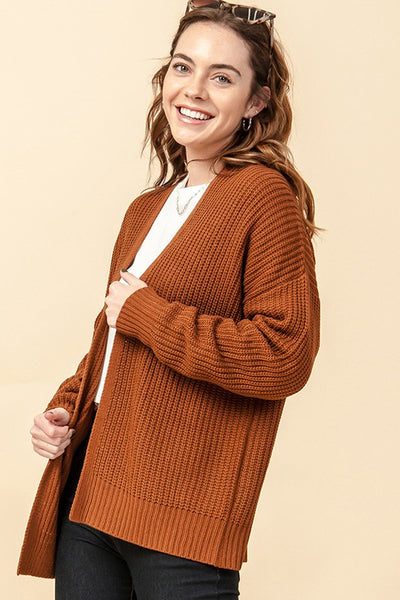 Take Me Everywhere Open Front Cardigan-3 Colors!