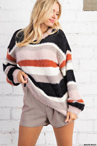 The Veronica Soft Mock Neck Sweater