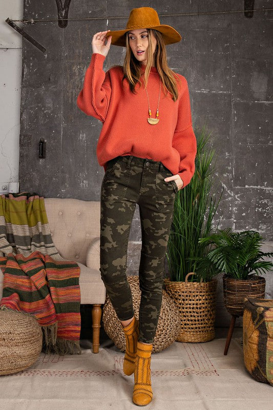 RESTOCKED!! The Woodlands Camo Stretch Twill Skinny Pants