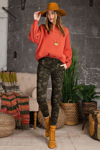 PRE-ORDER!! The Woodlands Camo Stretch Twill Skinny Pants