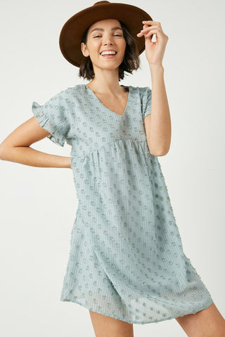 Oh Hey Babe Swiss Dot Tunic Dress