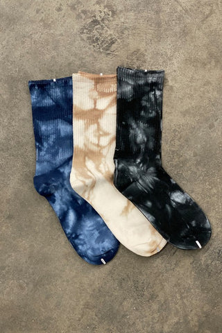 The Milly Marbled Long Socks