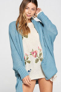 Into the Sunrise Slouch Dolman Sweater Cardigan