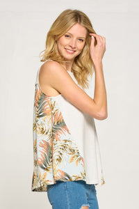 Kualoa Tropical Printed Top