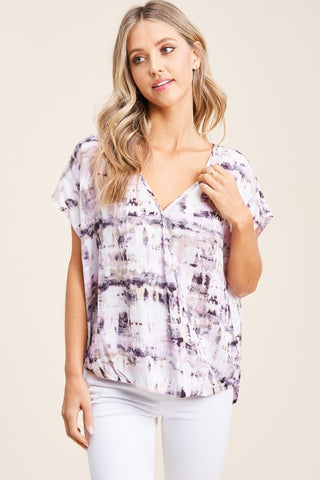 Melt Together Tie Dye Top