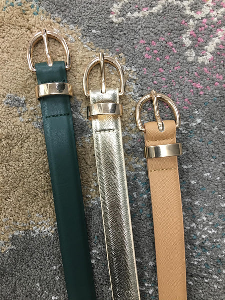 Essential Babe Belt- 3 Colors!
