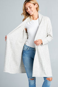 Scarlett Cardigan - Dove Grey