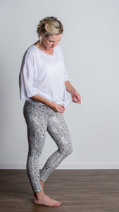 LBC Active Poppy Print Full Legging