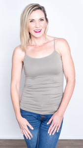 Basic Babe Seamless Cami- Colors