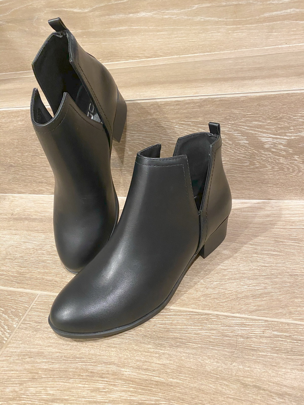 Up for Anything Bootie in Black