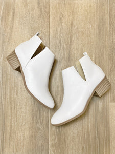Up for Anything Bootie in White