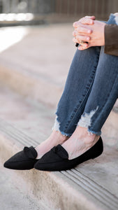 Essential Babe Flats- Black Knot