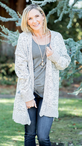 Melinda Braided Trim Cardigan
