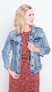 Lola Brand Essential Denim Jacket- 4 Way Stretch!