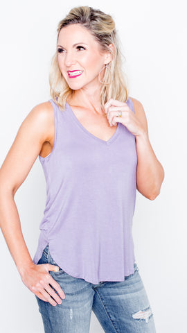 Perfect Day Tank in Lavender