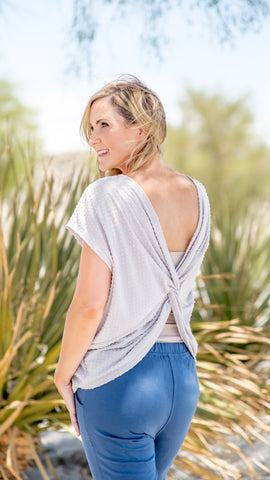 Baubles Twist Back Everyday Tee- 2 Colors!