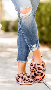 Pink Leopard Everyday Slippers