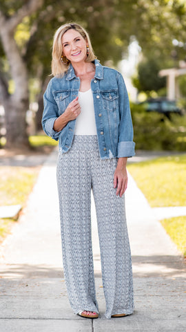 In Search Of Smocked Palazzo Pants