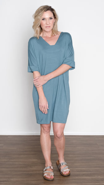 The Mila Half Sleeve Knit Dress