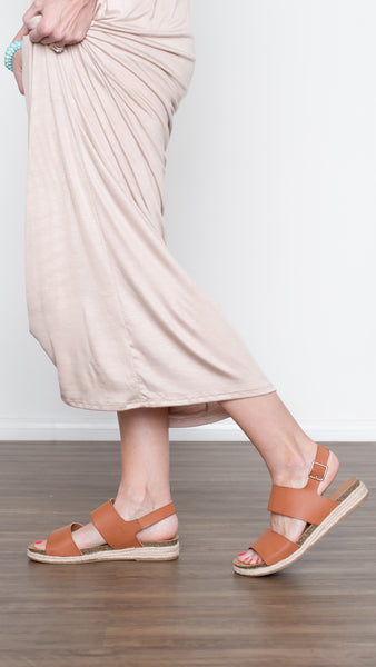The Butterscotch Espadrille Sandals