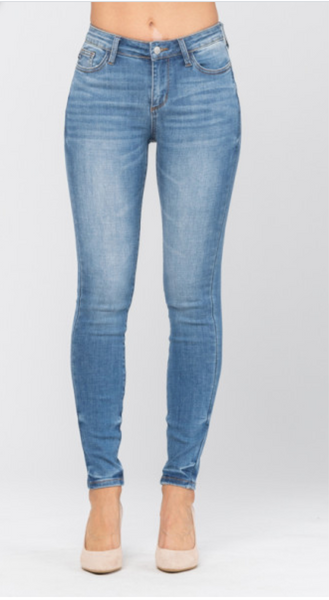 The Blake Non-Distressed Skinny Jean