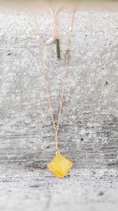 The Sunshine Layered Stone Necklace