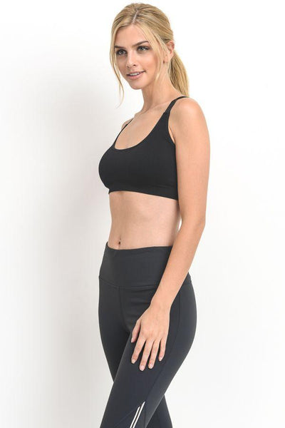 Lounging Life Sports Bra- Black