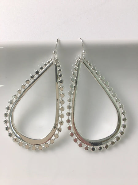 Everyday Statement Teardrop Earrings- 2 Colors!