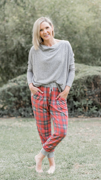 Tartan Plaid Lounge Pants