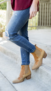 The Nashville Paneled Western Boot