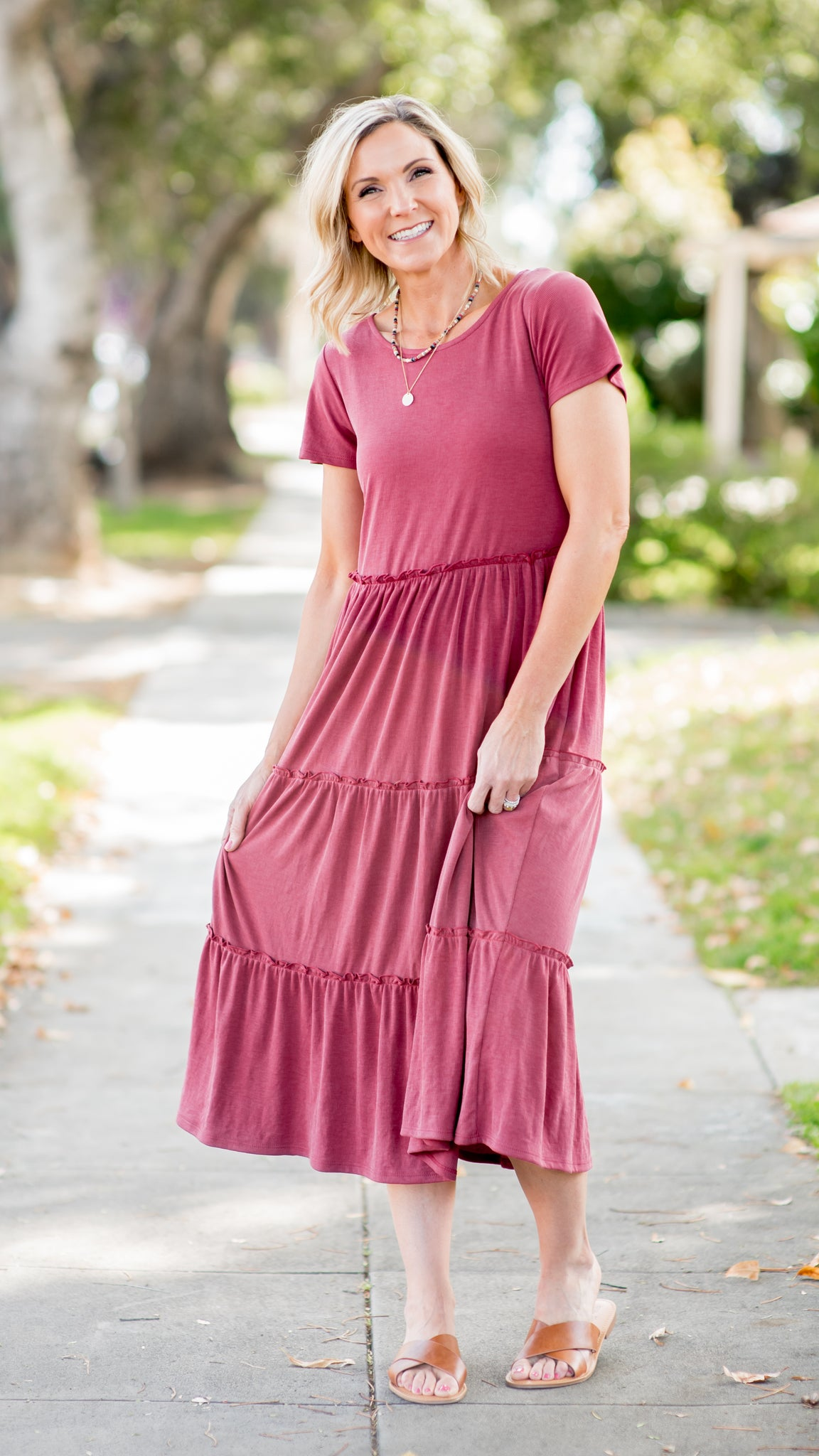 Tiered to Perfection Maxi Dress