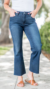 The Kate Slim Crop Bootcut Jean