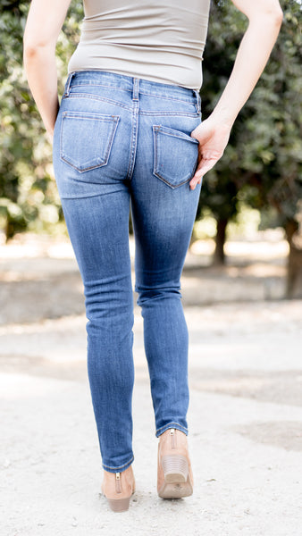 The Mary Mid Rise Super Skinny Jean