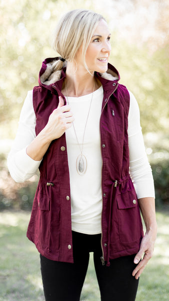 Essential Babe Fur Lined Vest