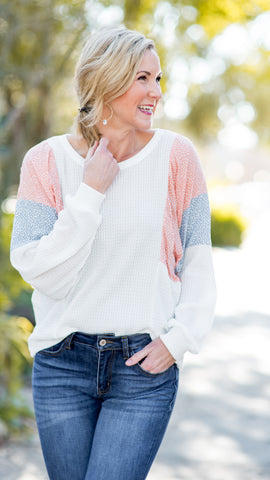 Spring is in the Air Long Sleeve Top