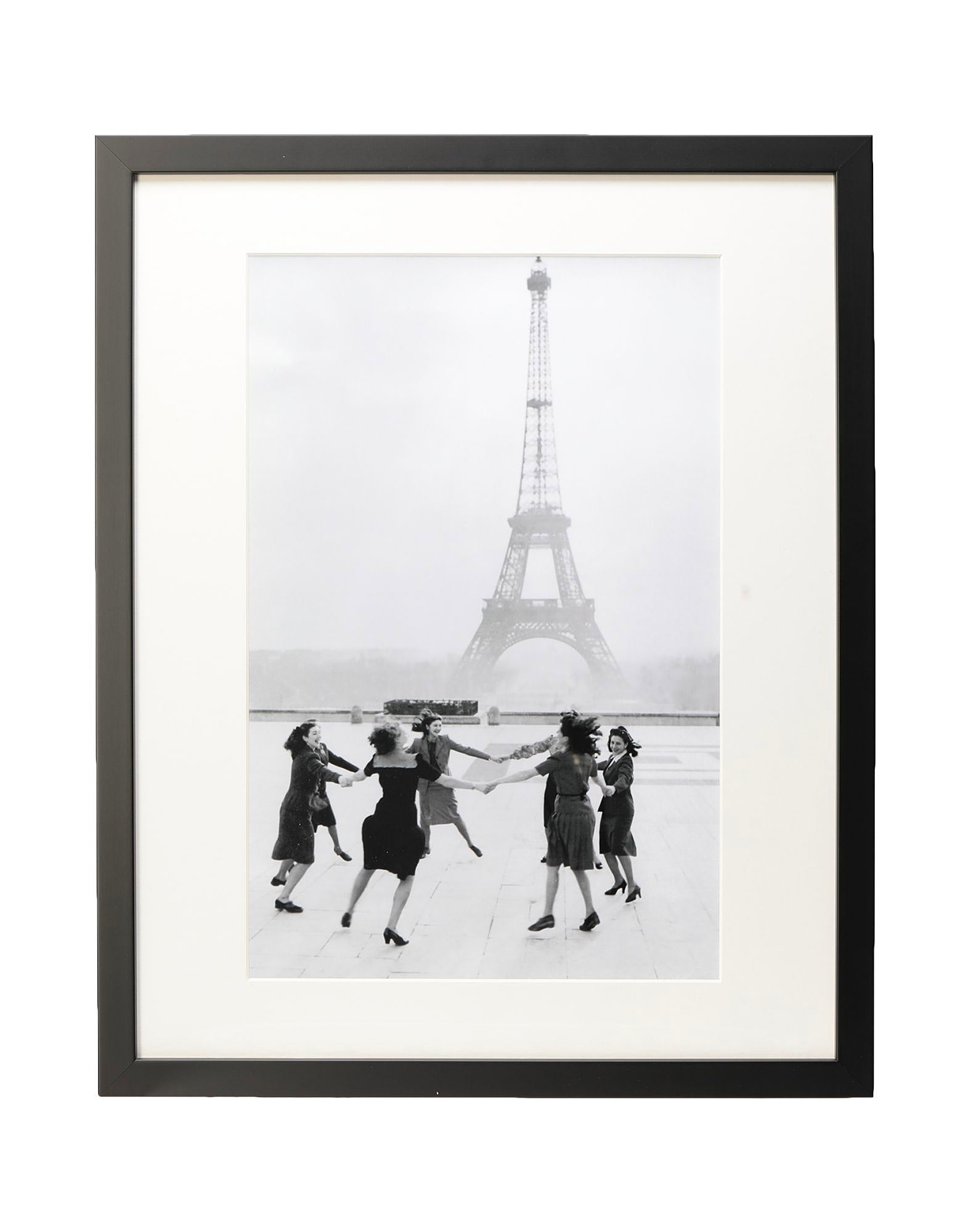 Eiffel Tower Photography -  Dancing in front of the Eiffel Tower Photography