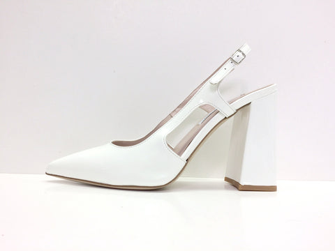 Designer Leather Heels Pump