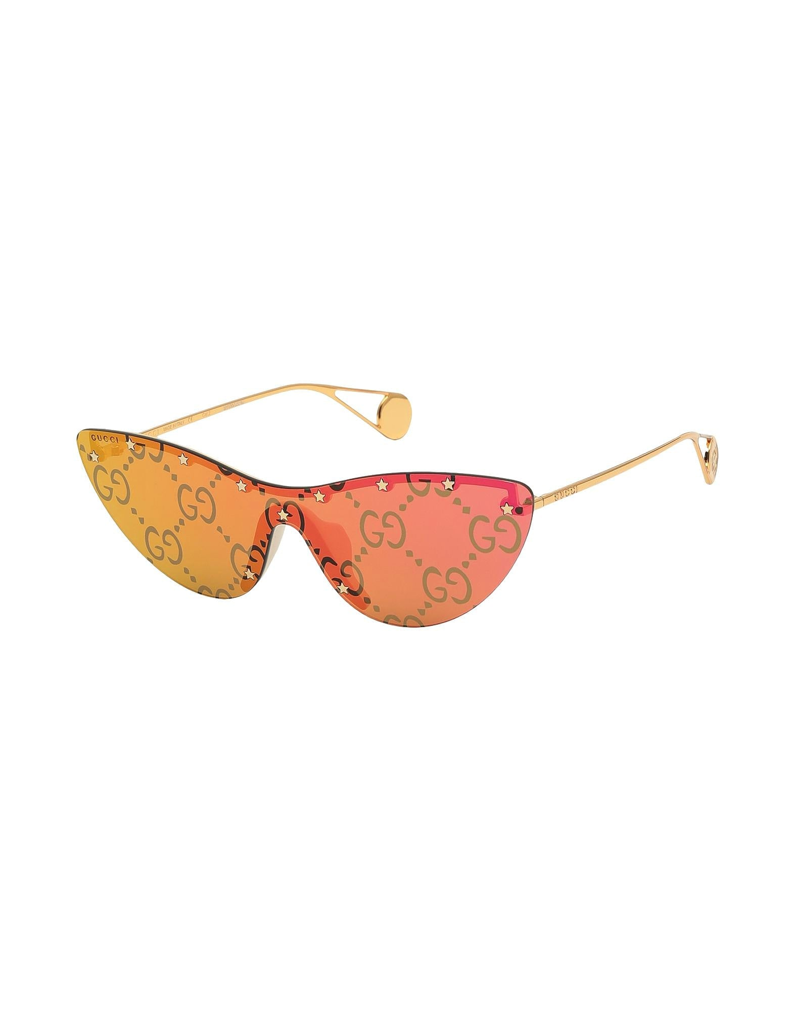 GUCCI Sunglasses Yellow - Pink 99 mm