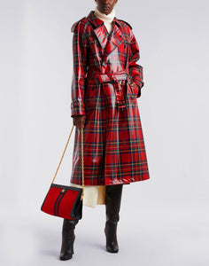 Burberry Trench Coat - Red