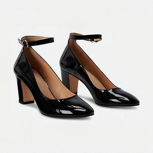 Minnelli leather heels