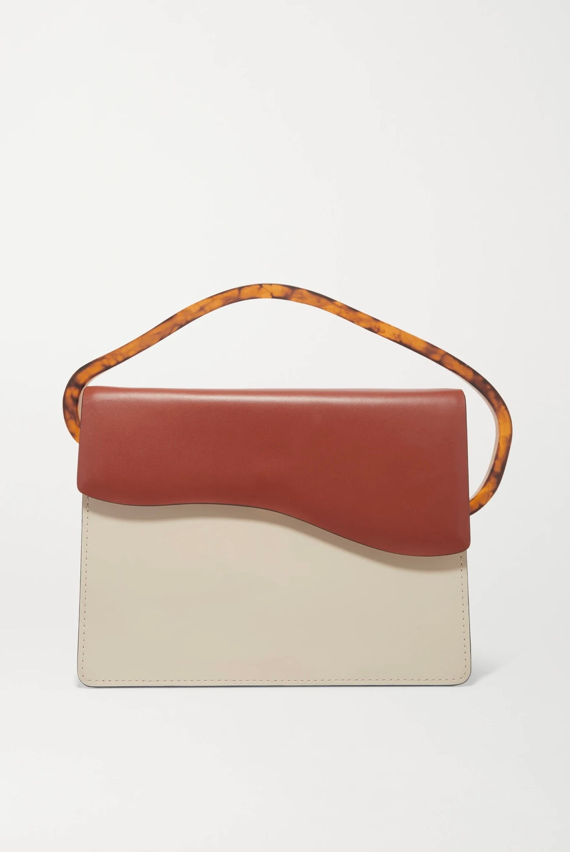 6 NATURAE SACRA Aiges two-tone leather and resin tote